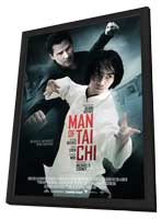 Man of Tai Chi - 11 x 17 Movie Poster - Style B - in Deluxe Wood Frame