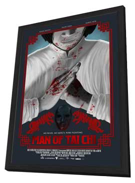 Man of Tai Chi - 11 x 17 Movie Poster - Style A - in Deluxe Wood Frame