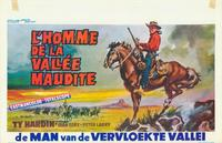 Man of the Cursed Valley - 27 x 40 Movie Poster - Belgian Style A