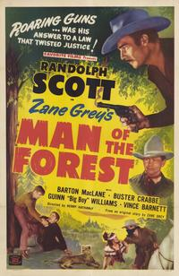 Man of the Forest - 11 x 17 Movie Poster - Style B