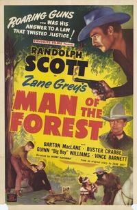 Man of the Forest - 27 x 40 Movie Poster - Style A