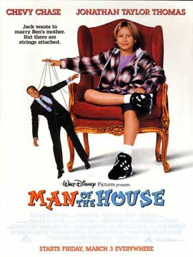 Man of the House - 27 x 40 Movie Poster - Style B