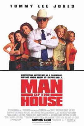 Man of the House - 11 x 17 Movie Poster - Style A