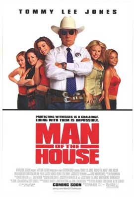 Man of the House - 27 x 40 Movie Poster - Style A