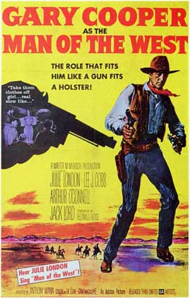 Man of the West - 11 x 17 Movie Poster - Style A
