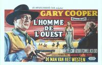 Man of the West - 14 x 22 Movie Poster - Belgian Style A