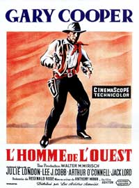 Man of the West - 11 x 17 Movie Poster - French Style A