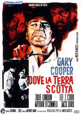 Man of the West - 11 x 17 Movie Poster - Italian Style A
