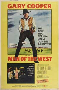 Man of the West - 27 x 40 Movie Poster - Style E