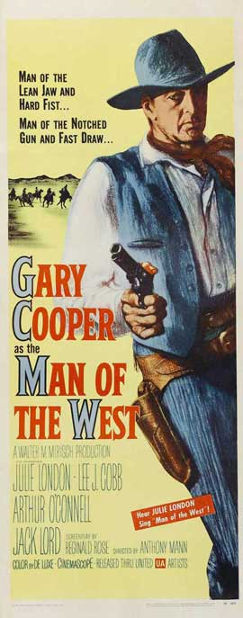 Man of the West - 14 x 36 Movie Poster - Insert Style A