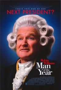 Man of the Year - 43 x 62 Movie Poster - Bus Shelter Style A