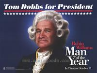 Man of the Year - 27 x 40 Movie Poster - Style B