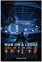 Man on a Ledge - DS 1 Sheet Movie Poster - Style A