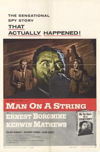 Man on a String - 27 x 40 Movie Poster - Style A