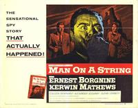 Man on a String - 22 x 28 Movie Poster - Half Sheet Style A