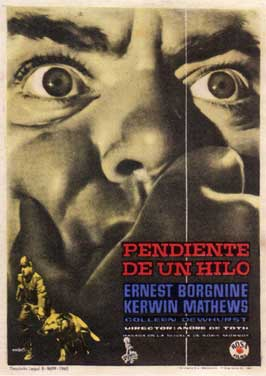 Man on a String - 11 x 17 Movie Poster - Spanish Style A