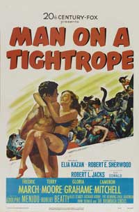 Man on a Tightrope - 11 x 17 Movie Poster - Style A