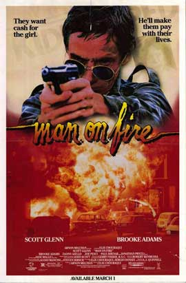 Man on Fire - 27 x 40 Movie Poster - Style B