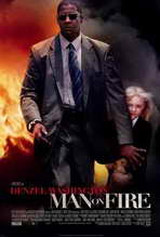 Man on Fire - 27 x 40 Movie Poster - Style A
