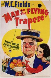 Man on the Flying Trapeze - 11 x 17 Movie Poster - Style A