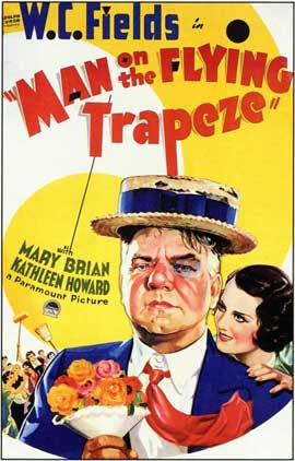Man on the Flying Trapeze - 11 x 17 Movie Poster - Style B
