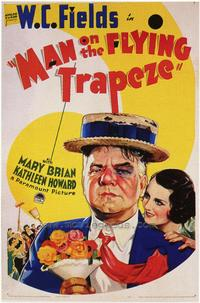 Man on the Flying Trapeze - 43 x 62 Movie Poster - Bus Shelter Style A