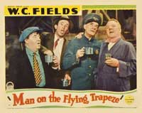 Man on the Flying Trapeze - 11 x 14 Movie Poster - Style B