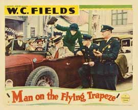 Man on the Flying Trapeze - 11 x 14 Movie Poster - Style C