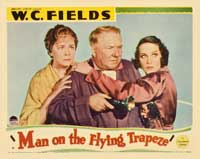 Man on the Flying Trapeze - 11 x 14 Movie Poster - Style D