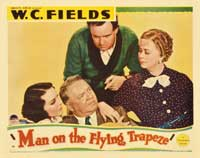 Man on the Flying Trapeze - 11 x 14 Movie Poster - Style E