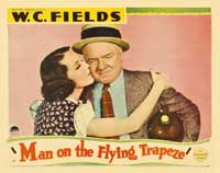 Man on the Flying Trapeze - 11 x 14 Movie Poster - Style F