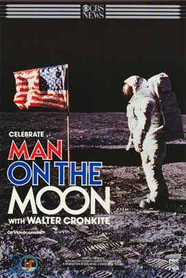 Man on the Moon - 11 x 17 Movie Poster - Style A