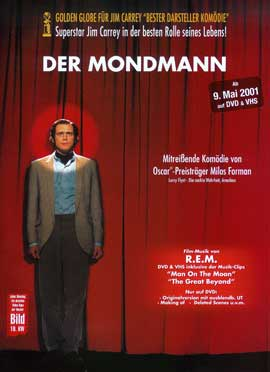 Man on the Moon - 27 x 40 Movie Poster - German Style A