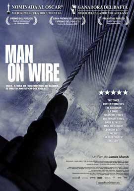 Man on Wire - 11 x 17 Movie Poster - Spanish Style A
