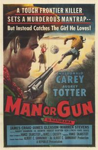 Man or Gun - 11 x 17 Movie Poster - Style A