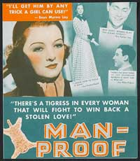 Man-Proof - 11 x 17 Movie Poster - Style A