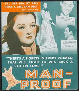 Man-Proof - 27 x 40 Movie Poster - Style B