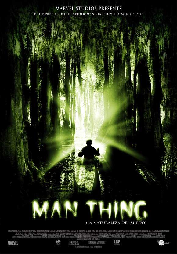 Man-Thing Movie Poster...