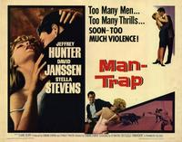 Man Trap - 22 x 28 Movie Poster - Half Sheet Style A