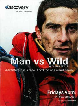 Man vs. Wild - 11 x 17 TV Poster - Style A