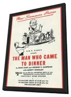 Man Who Came to Dinner, The (Broadway) - 11 x 17 Poster - Style A - in Deluxe Wood Frame