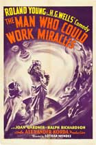 The Man Who Could Work Miracles - 27 x 40 Movie Poster - Style A