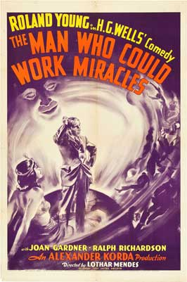 The Man Who Could Work Miracles - 11 x 17 Movie Poster - Style A