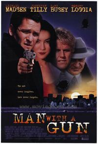 Man with a Gun - 43 x 62 Movie Poster - Bus Shelter Style A