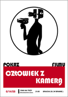 Man with a Movie Camera - 11 x 17 Movie Poster - Polish Style A