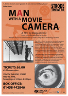 Man with a Movie Camera - 11 x 17 Movie Poster - UK Style A