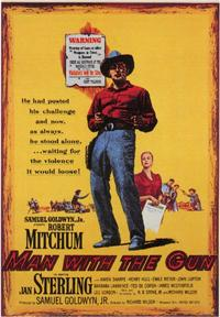 Man With the Gun - 43 x 62 Movie Poster - Bus Shelter Style A
