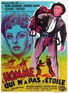 Man Without a Star - 11 x 17 Movie Poster - French Style A