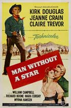 Man Without a Star - 27 x 40 Movie Poster - Style B