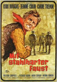 Man Without a Star - 11 x 17 Movie Poster - German Style A